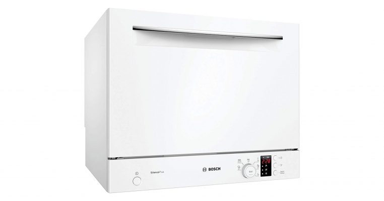 Máy Rửa Bát Mini Bosch Sks62E32Eu Độc Lập Serie 4, Trắng, 55Cm 1